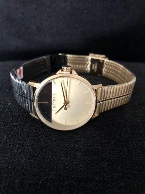 Esprit Reloj con pulsera metálica color oro-negro metal