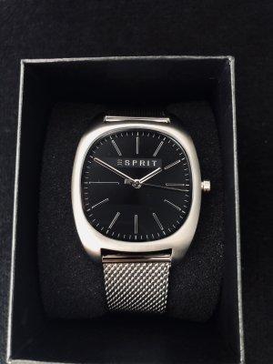Esprit Montre avec bracelet métallique noir-argenté