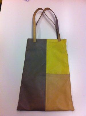 Original ETRO Handtasche dreifarbiges Leder