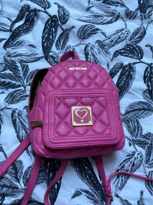 Love Moschino School Backpack pink
