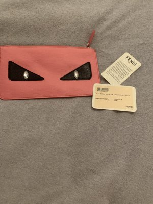 Fendi Clutch pink-raspberry-red