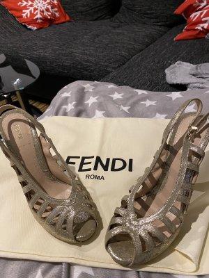Original Fendi Damenschuhe Sandalen