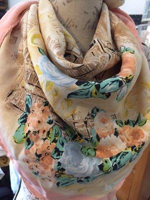 Fendi Pañuelo de seda multicolor