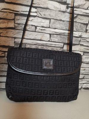 Original Fendi Tasche Umhängetasche schwarz Vintage