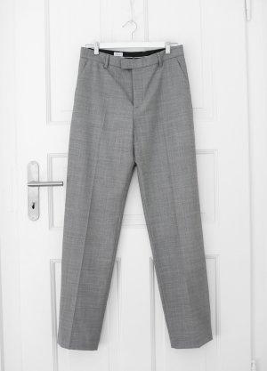 Filippa K Pantalon taille haute gris-gris foncé