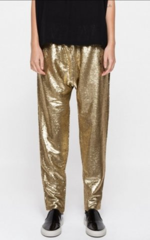 Finders Keepers Pantalone alla turca argento-oro Poliestere