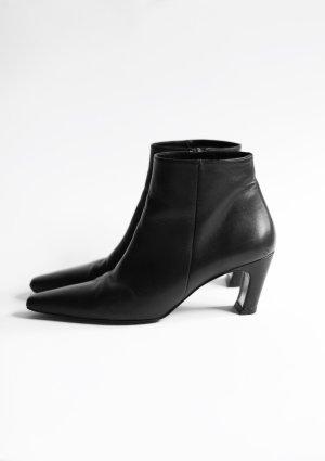 Original Flattered Stiefeletten Ankle Boots schwarz Gr. 38 Leder
