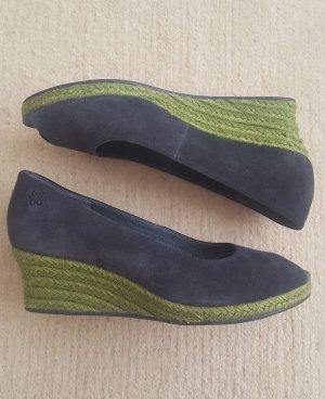 Original Flip*flop Wedges Keil-Peeptoe, Flippa Classic, blaues , Gr. 39