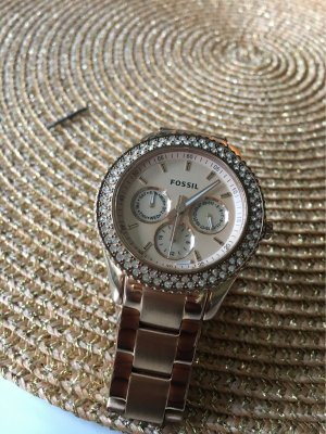 100% Fashion Watch With Metal Strap gold-colored