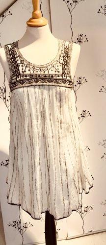 Original FREE PEOPLE Kleid mit Stickerei und Perlen - Gr.34