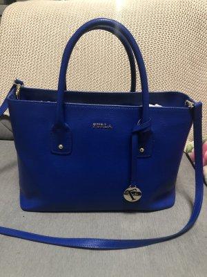 Original Furla Leder Tasche Tote Bag