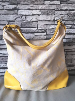 Furla Borsa shopper crema-giallo