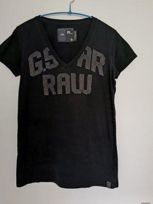 Original G-Star T-Shirt Gr. L Schwarz