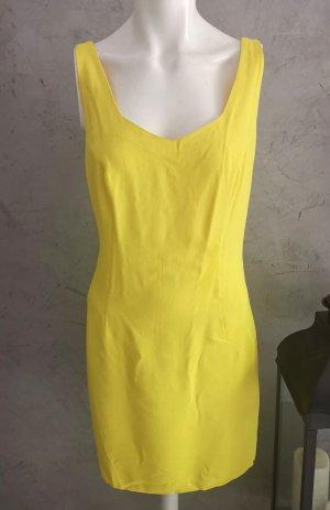 Original Gianni Versace Kleid Gr 36-38 ital 44 gelb