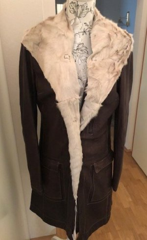 Original Giorgio Brato Ledermantel /Long-Jacke