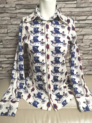 Original Givenchy Damen Bluse Gr 34-36 S Kutsche