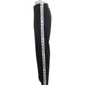 Original Givenchy Hose langes Bein Unisex Damen Herren S/M 38 schwarz