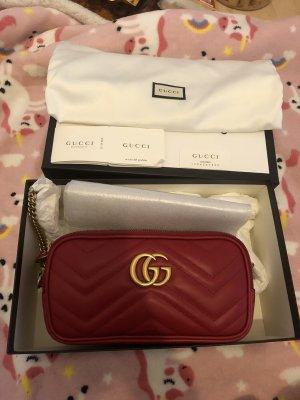 Gucci Gekruiste tas rood