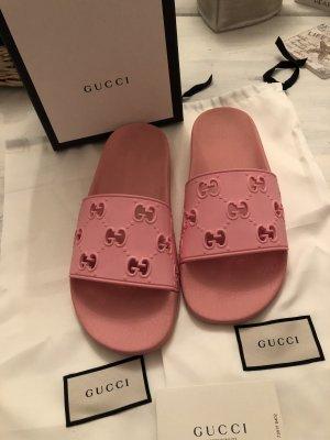 Original Gucci Badelatschen rosa 250€**Ein Schnäppchen **Letzte Preisreduzierung!!!