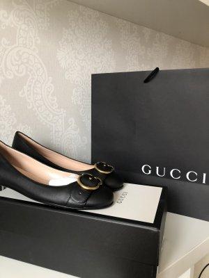 Gucci Bailarinas con tacón Mary Jane negro