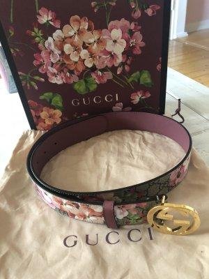 Gucci Ceinture en cuir multicolore cuir
