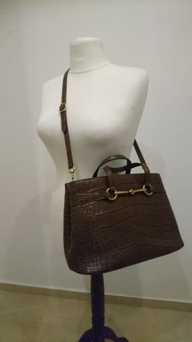 Original GUCCI Bright Bit Croco Tasche