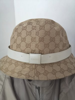 Original Gucci bucket Hat Fischerhut Hut Cap GG Canvas Gr M