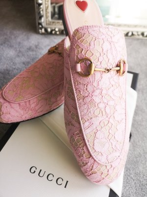 Gucci Mocasines rosa claro-rosa