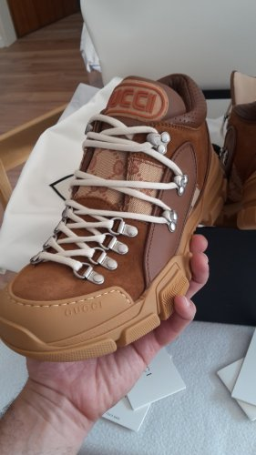 Original Gucci Flash Trek High Top Sneaker