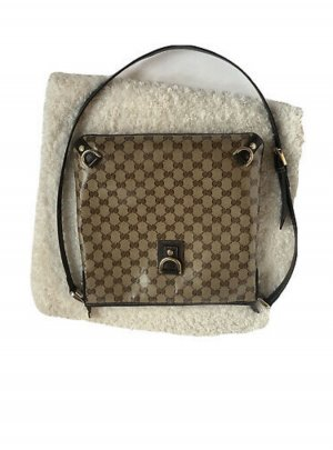 Original Gucci GG Crystal Tasche Canvas Monogram Bag Umhängetasche