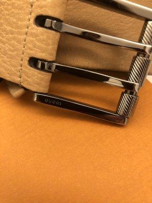 Gucci Double Belt beige-nude