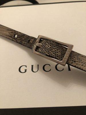 Gucci Cintura di pelle oro-nero Pelle