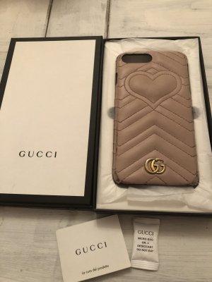 Original Gucci Handyhülle Modell  Marmont Leder IPhone 7/8 Plus