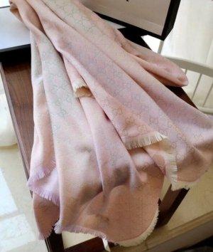 Gucci Écharpe d'été rose clair