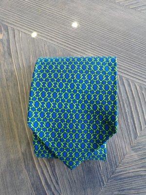 Gucci Casual Cravat cornflower blue-meadow green