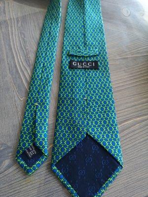 Original Gucci Krawatte 100% Seide Krawattenschal