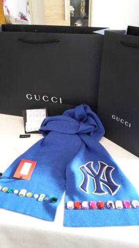Gucci Cappello a maglia blu Cotone