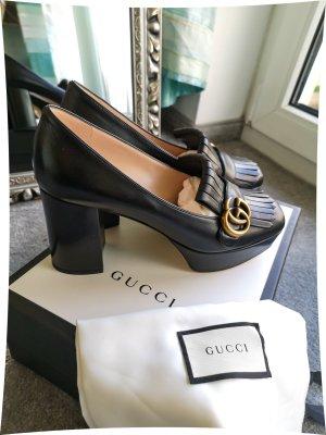 Original Gucci Plateau-Loafer NEU Gr.39