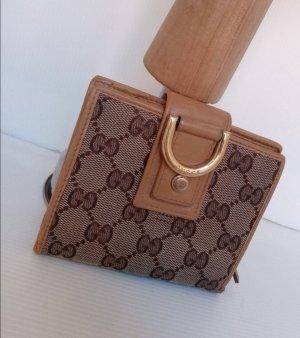 Original Gucci Portemonnaie Geldbörse canvas Muster