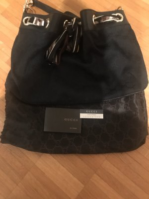 Original Gucci Positano, schwarz, mit Zertifikat