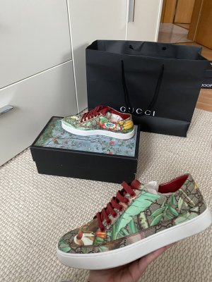 Gucci Zapatillas altas multicolor
