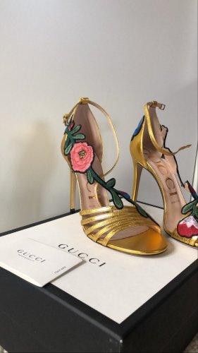 Gucci Tacco alto oro