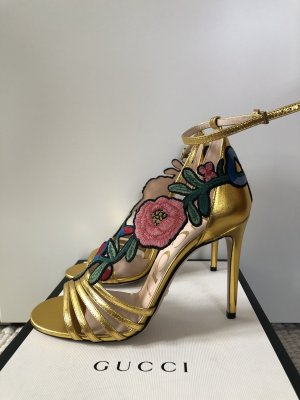 Original gucci schuhe in Gold