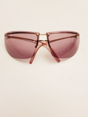 Gucci Oval Sunglasses mauve