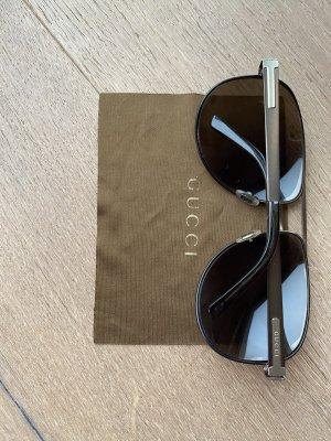 Gucci Pilotenbril donkerbruin-goud