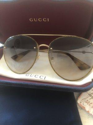 Original Gucci Sonnenbrille Gold Glitzer 399€