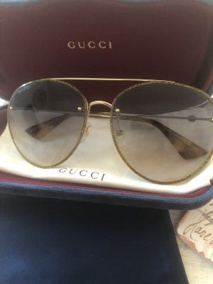 Gucci Aviator Glasses multicolored