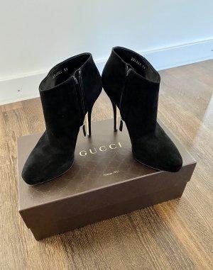 Original Gucci Stiefeletten, Größe 39, schwarz