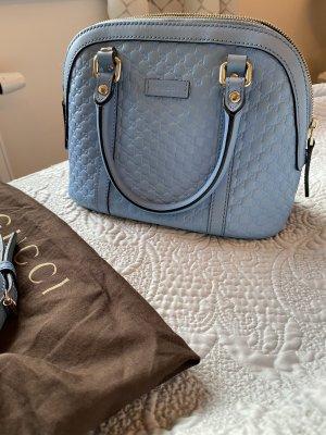 Original Gucci Tasche Dome himmelblau Alma