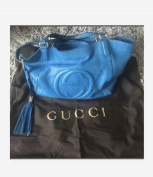 Gucci Handtas neon blauw